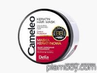 Възстановяваща маска за боядисана коса с кератин Cameleo - Delia