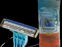 Комплект от 4 самобръсначки с 3 остриета Comfort - Personna