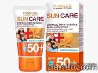 Слънцезащитен крем за лице за чувствителна кожа SPF 50 - Floslek