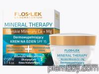 Дермозапълващ дневен крем за лице Mineral Therapy SPF15 - Floslek