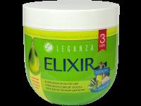 Крем-маска за плътност и обем с колаген и зехтин Elixir Leganza - Rosa Impex