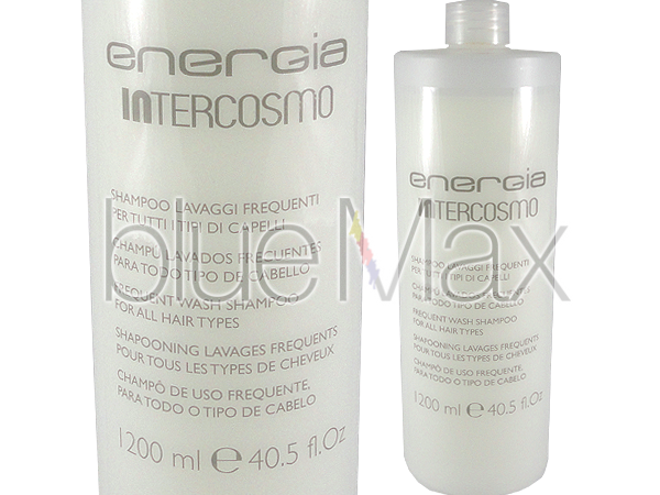 Шампоан за боядисана и суха коса с кератин, 1200 мл - Intercosmo Energia