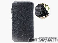 Гъба Конджак за лице за мазна кожа с въглен от бамбук - Kodjac Sponge