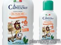 Детска вода за уста с аромат на мента - Junior +6 Capitano - Ciccarelli