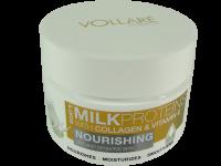 Подхранващ крем за суха и чувствителна кожа за лице с козе мляко Vollare - Verona