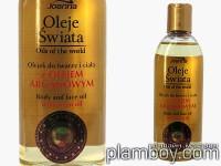 Възстановяващо масло за лице и тяло за чувствителна кожа с арган - Joanna