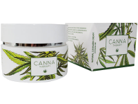 Био крем за лице против бръчки с екстракт от канабис Canna Therapy - Diet Esthetic