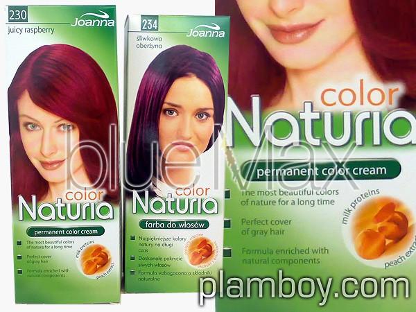 Боя за коса с екстракт от праскова Naturia - Joanna