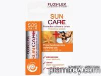 Подхранващ слънцезащитен балсам за устни SPF14 - Floslek