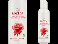 Козметична розова вода 100% натурална, 120 мл - Rozeda