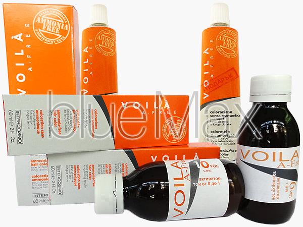 Безамонячна боя за коса професионална - Voila - A-free  + подарък