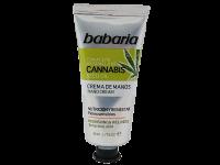 Премиум хидратиращ крем за ръце с масло от канабис - Babaria