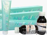 Професионална безамонячна боя за коса с масло от Макадамия - Nutrilux