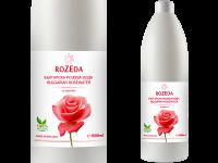 Козметична розова вода 100% натурална, 1000 мл - Rozeda