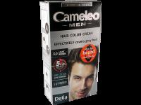 Безамонячна крем-боя за коса за мъже - 5.0 светло кестенява - Delia