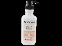Подхранващо и защитаващо кожата мляко за тяло с витамин E - Babaria