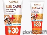 Водоустойчив семеен слънцезащитен лосион SPF30 - Floslek