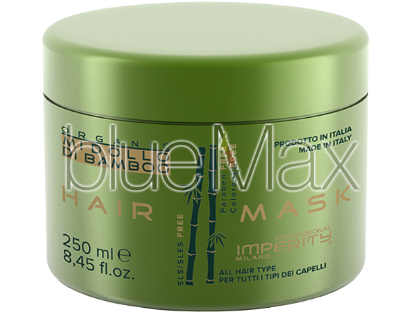 Маска за коса за всеки тип коса с бамбук без SLS и парабени, 250 мл - Imperity