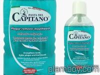 Вода за уста против плака и зъбен камък, без алкохол - Plaque Remover Capitano - Ciccarelli
