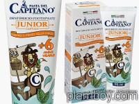 Детска паста за зъби с лек ментов аромат - Junior +6 Capitano - Ciccarelli