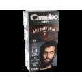 Оцветяваща крем-боя за бради и мустаци без амоняк - 3.0 тъмно кестенява - Delia