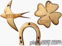 Арома медальон за етерични масла - Styx