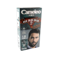 Оцветяваща крем-боя за бради и мустаци без амоняк - 1.0 черна - Delia
