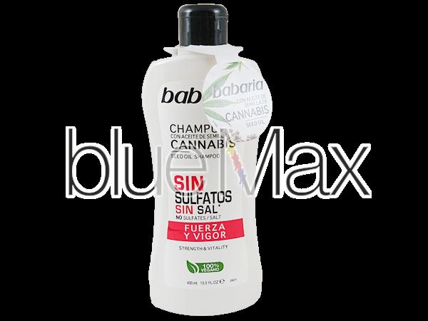 Заздравяващ и укрепващ шампоан за коса с масло от канабис - Babaria