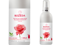 Козметична розова вода спрей 100% натурална, 200 мл - Rozeda