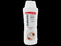 Освежаващ душ гел и пяна за вана 2в1 с кокосово масло и ванилия - Babaria