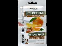 Пилинг и подхранваща маска за крака с портокал Vollare - Verona