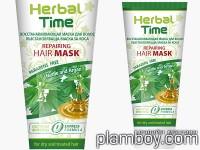 Възстановяваща маска за коса с коприва- Herbal time - Rosa Impex