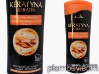 Възстановяващ шампоан за суха и увредена коса с кератин - Joanna