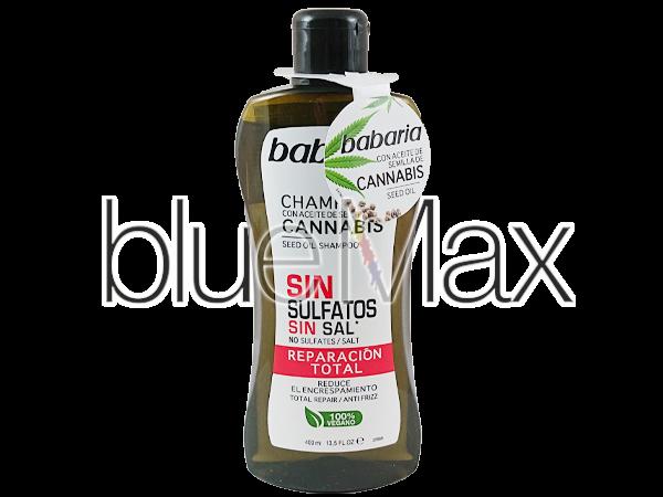 Възстановяващ и укрепващ шампоан за коса с масло от канабис - Babaria
